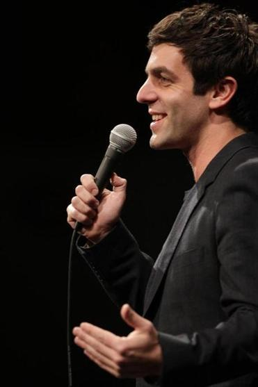 B.J. Novak Novak, who grew up in Newton, was a good fit for the prank-inclined humor magazine. The actor, writer and producer on The Office recently fessed up to being one of the forces behind the notorious Museum of Fine Arts audio tour prank when he was in High School. He became known locally for his pranks at Harvard and nationally for his pranks on the MTV show Punk'd. Novak held variety shows at Harvard, once inviting Bob Saget to host. One of his first jobs was on Saget's show Raising Dad .