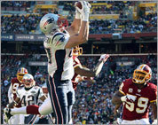 Pats-Redskins photos