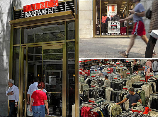 Filenes Basement files for bankruptcy and goes out business The legendary discounter, famous for its Running of the Bride's event, can't compete with larger rivals and shuts its stores for good .