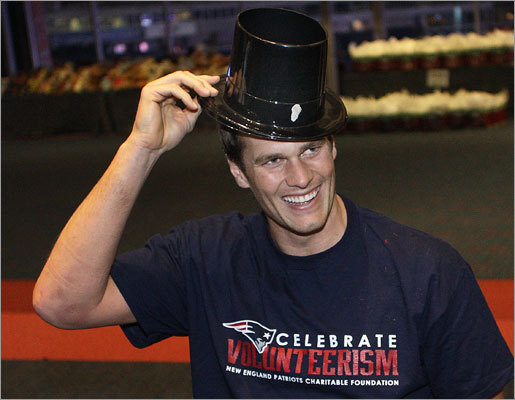 Dec. 13 in Foxborough The event also featured holiday-themed games with players, autographs and gifts from the New England Patriots Charitable Foundation.