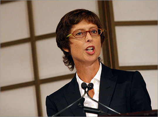 Abigail Johnson She's the president of Fidelty Investments and named the fifth richest woman in the world by Forbes magazine. She lives in the Milton house that belonged to her grandfather. Johnson is also the 18th Most Powerful Woman in Business, according to CNN Money.
