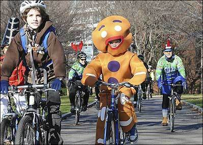 Annual Jingle Ride lets the good times roll again