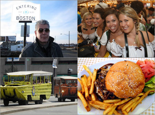 Beaches, burgers, and Bourdain were among the most popular Boston.com travel features in 2011. Here is the top 10 most trafficked features produced this year.