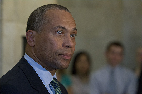 Deval Patrick The governor of Massachusetts said he got 'a break' from his life in Chicago's South Side when a scholarship brought him to Milton Academy when he was 14. He then went on to Harvard and law school. Patrick and his family live in Milton, in a house on his old paper route.