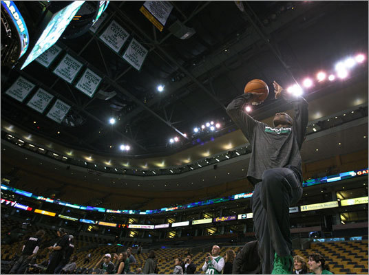As is the case with most things (Tim Tebow, anyone?), the state of the Celtics is neither as good or as bad as some people will make it out to be. The Celtics have been given 8-1 odds of winning the title this season, the fifth-best odds of any NBA team to win it all, tied with the defending NBA champion Dallas Mavericks. While it would be difficult to hurdle those top four teams, the Celtics are not as far away from being in contention as some might think. A lot would have to come together, but if the stars align, the Celtics can be in the hunt. Here are five ways the Celtics can capture the title.