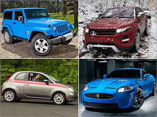 Boston Globe Top Drives for 2012