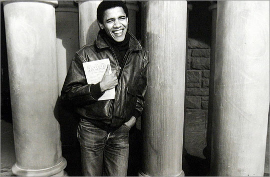 Barack Obama Before he was president, Barack Obama lived in Somerville between 1988 and 1991 while he attended Harvard Law School. He lived at 365 Broadway for $900 a month, drove a 1984 Toyota Tercel to class and picked up $375 worth of parking tickets (that he eventually paid off years later). Obama found the basement apartment through a listing in the Boston Globe. 'He was a very good tenant. He was no trouble. There were no girls or wild parties,' said the landlord. 'He was very industrious. He had an agenda. He wanted to be successful.'