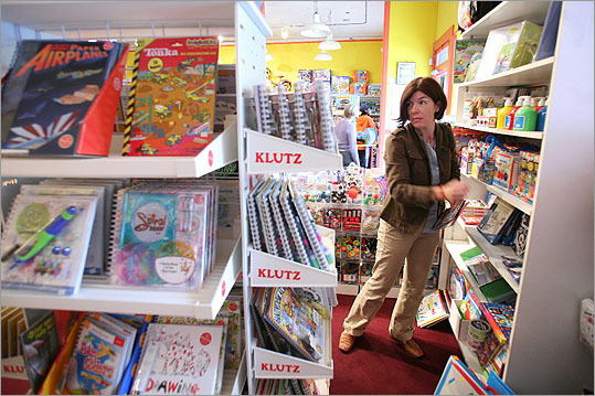 Claire Messud The author of 'The Emperor's Children' went to Milton Academy and has lived around the world but she started living in Somerville in 2003 when her husband, James Wood, began working for Harvard. Author Claire Messud is pictured shopping for her children at Henry Bear's Park.