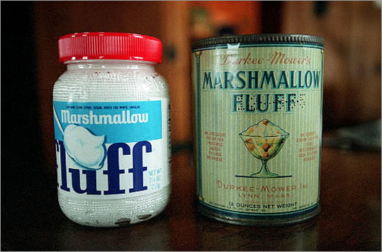 Archibald Query The inventor of Marshmallow Fluff lived in Somerville. The town throws Fluff Fest in his honor every year. Query came up with the recipe in his kitchen and sold it door to door until World War I, which limited his access to sugar. He sold his recipe to the Durkee-Mower company in 1920 for $500.