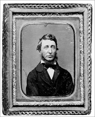 Henry David Thoreau He's perhaps Concord's most <a href='http://articles.boston.com/2011-06-30/yourtown/29722511_1_fund-projects-generations-organizations '>famous son. The author, philosopher, and abolitionist spent his life in Massachusetts. Thoreau spent two years at Concord's Walden Pond shunning technology and then wrote his most famous pieces of work, 'Walden' and 'Civil Disobedience.' His home is listed on the National Register of Historic Places.