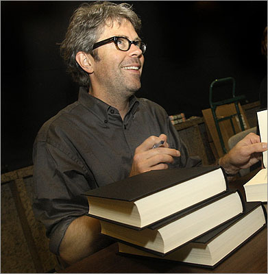 Jonathan Franzen The author of 'The Corrections' moved to Somerville after college with his wife in the '80s to try out a writing career. 'I wrote probably 30 stories in my Somerville years, and not one got published, ever,' he told the Boston Phoenix. Franzen wrote for eight hours a day and got a job at Harvard in the seismology department on the weekends. He and his wife eventually moved to New York after his Somerville apartment rent went from $300 a month to $600. Oprah Winfrey pulled her book club endorsement after Franzen expressed conflicted feelings about her seal on the cover.