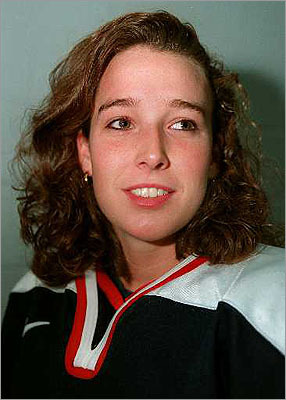 Laurie Baker The former Concord resident won a gold Olympic medal for playing hockey in 1998. She won a silver medal in 2002. These days, she's an athletic director and women's hockey coach at Lawrence Academy in Groton.
