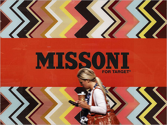 Missoni and Target Target underestimated how much online demand there would be for high-end designer Missoni's cheap and chic new line in September. So when customers bombarded the site, it bottlenecked and dramatically failed . 'It's totally embarrassing,' Jim Cain, a Canadian-based Web analyst, told the Globe at the time. 'It was just a badly done deployment. Normally, this doesn't happen with the really big companies. The site being down for that many hours must have cost them a lot of money. That's millions and millions of dollars.'