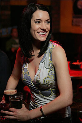 Paget Brewster The actress was born in Concord. Her parents taught at Middlesex School nearby. She is known recently as the character Emily Prentiss on 'Criminal Minds' but many remember her as the woman who got between Chandler and Joey on 'Friends.' In 2010, CBS reduced the number of episodes Brewster appeared in on 'Criminal Minds' which sparked fans to protest.