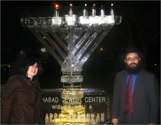 2009 saw the return of the impressive ice menorah. Why change what works?