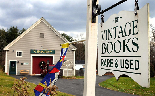Nancy and David Haines run Vintage Books from a handsome, tan clapboard barn next to their 1818 red-brick farmhouse on Hopkinton's Hayden Rowe Street. The Haineses are one of the world's largest dealers of books by and about Quakers.