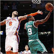 Celtics-Knicks photos
