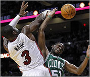 Celtics-Heat photos
