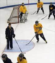 Girls' hockey squad has offense in high gear