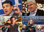 Candidates in Iowa