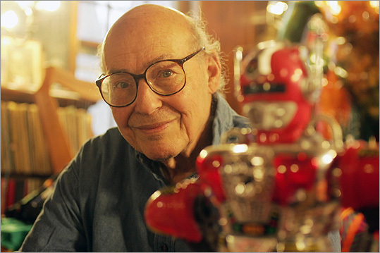 Marvin Minsky Computer science professor Marvin Minsky of the Massachusetts Institute of Technology is known for feats that range from inventing the ultrahigh-resolution confocal microscope to helping found the field of artificial intelligence, which aims to create computers that mimic the human mind. Minsky is pictured at his home in Brookline with a robot.