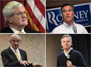 Pictures: Candidates in New Hampshire