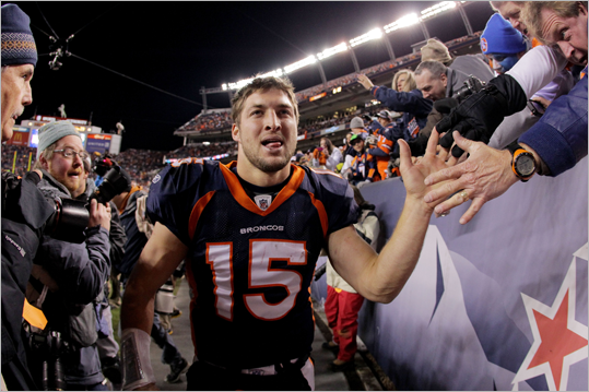 If you have never heard your friends or the media talking about Tim Tebow then there is a good chance you've been living under a rock. Tebow is the face of the Broncos -- some have even called them the Denver Tebows. The quarterback had one of his best professional games in a 29-23 overtime win against the Steelers in the wild-card game Sunday to set up a Week 15 rematch against the Patriots. You already know Tebow, but probably need brushing up on the rest of the Broncos. Meet the other Broncos who could play key roles on Saturday in this gallery.