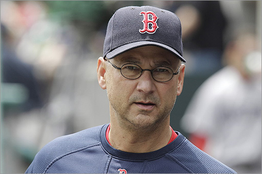 Terry Francona The former Red Sox manager lives in the suburb closest to Fenway Park with his family. Francona won two championships with the baseball team. Previously, he coached other teams, including the Birmingham Barons when basketball player Michael Jordan tried out baseball. They played Yahtzee on the bus to away games.