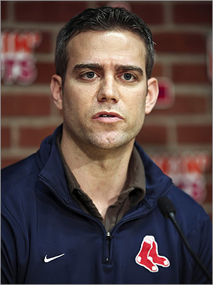 Theo Epstein He was the youngest general manager in Major League Baseball history when he was hired by the Red Sox in 2002. He oversaw the team as it won two World Series championships. Epstein resigned in 2011 and became president of baseball operations for the Chicago Cubs. He grew up and lived in Brookline. Epstein still visits from time to time to host charity events. His grandfather and great-uncle, Philip and Julius Epstein, wrote the screenplay for 'Casablanca.'
