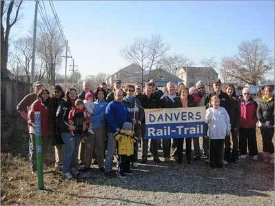 Rail Trail kicks off mileage marker plan