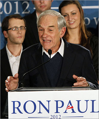 Ron Paul's second-place finish in New Hampshire gives the Texas congressman -- who for years has been cast as a fringe, also-ran candidate -- much-needed momentum as the campaign heads south, first to South Carolina then Florida.