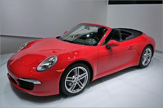 2012 Porsche 911 Cabriolet