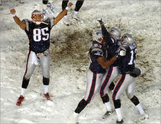 The 'Tuck Rule' game between the Patriots and Raiders on Jan. 19, 2002, is considered one of the greatest games in Patriots history. Also known as the 'Snow Bowl,' the AFC Divisional playoff victory was a defining moment as the Patriots marched toward their first Super Bowl victory. Take a look back at the Tuck Rule game, and the final game played at Foxboro Stadium, with the rule to be voted on Wednesday at the NFL owner's meetings.