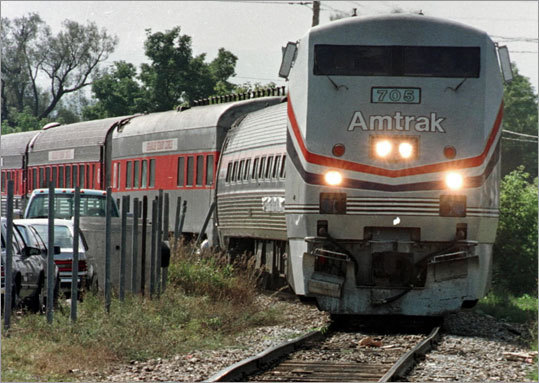 Amtrak is actually one of the cheaper options. A noontime, Friday departure out of Back Bay will land you in Indianapolis at 8:40 p.m. Saturday and costs $125.50. Most transfers take place in Chicago. Many have lengthy layovers.