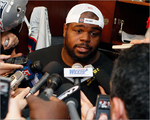 They're smug Team policy in Foxborough is to make life miserable for the media covering the team, and players (like Vince Wilfork, left) and coaches alike are good at staying on message. That means players say very little, even when their opponents say a lot. The few exceptions -- like Tom Brady suggesting fans imbibe before a game -- turn into international incidents, thus the silence. While the policy can be effective, it can also come across as smug to opposing teams and fans.