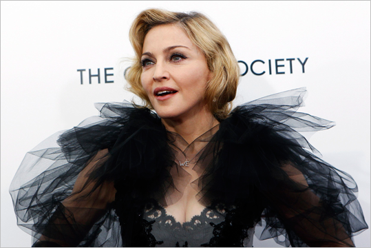 The Madonna Factor The Material Girl is from Bay City, Mich. She also got a dance scholarship to attend UM after high school and attended Michigan before she eventually dropped out. Tom Brady played his college ball at Ann Arbor. He was there a few years after Madonna had moved to New York – but we won't count that.