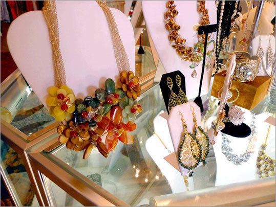 FASHION AND STYLE North End: Bling! of Boston (236A Hanover St., 857-366-4620, www.blingofboston.com ) specializes in re-creations of baubles worn by movie stars and other trend-setters. The shop also has a selection of contemporary jewelry and Kate Middleton-inspired clutch bags at affordable prices. Federal Hill: Father and son designers (Michael and Michael Turner) at The Divas Palace (299 Atwells Ave., 401-834-0148) have an eye for glam clothes with such high-fashion details as a lamb vest with fox trim, or a lace-patterned trench coat. Jewelry hits the same high note - just right for going out to be seen. Advantage: Providence. You won't find the Turner originals anywhere else.