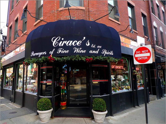 WINE & LIQUEURS North End: In addition to a huge selection of mostly northern Italian wines, V. Cirace & Son (173 North St., 617-227-3193, www.vcirace.com ) has one of the largest selections of grappas and aquavitae in the country. Federal Hill: Along with around 900 Italian wines (and even more California bottles), Gasbarro's (361 Atwells Ave., 401-421-4170, www.gasbarros.com ) has a select line of high-end liqueurs, grappas, and digestives, including the full selection of Poli single-varietal grappas from the Veneto. Advantage: Boston. V. Cirace does its own importing, giving the shop access to more tiny boutique producers.