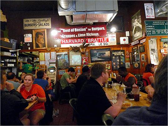 Name a burger after each city councilor at Mr. Bartley's and have a taste test #HowCambridgeShouldPickAMayor — Brock Parker (@bap2) January 26, 2012