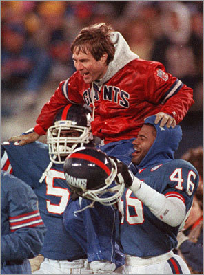An assistant with the Giants Belichick began a 12-year tenure with the New York Giants in 1979. He won his first two Super Bowls as a defensive coordinator for Bill Parcells. Belichick headed one of the most dominant groups of linebackers in NFL history, which included Hall of Famers Lawrence Taylor and Harry Carson. The magical seasons came in 1986 and 1990, giving him the credentials he needed to make the leap to head coach in the NFL.