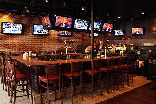 Stats has the TVs -- 22 in all -- so it will be hard to miss the game even if the bar is crowded. Jim Statires said there will be no specials Sunday because, they are trying to keep it casual. But there is no place better to get into the game and make some friends.
