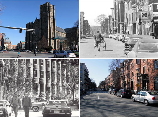 Few neighborhoods have gone through the vast changes the South End has seen over the last few decades. The neighborhood today is home to some of Boston's most famous and trendsetting spots. Here is a look at how the South End has transformed.
