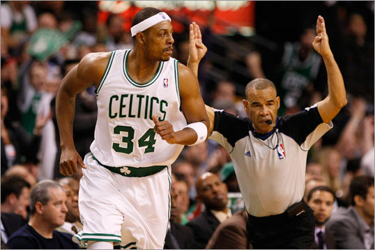 Paul Pierce passed Larry Bird's 21,791 career points Tuesday night to move into second place on the Celtics' all-time scoring list, putting him behind only John Havlicek, who scored 26,395 points in 16 seasons. In his 14th season with the Celtics, Pierce's career has been marked by highs and lows. He's played on more bad teams than previous Celtics legends, but he stuck around long enough to lead a team to one championship and to Game 7 of another Finals. We take a season-by-season look at Pierce's scoring efforts.