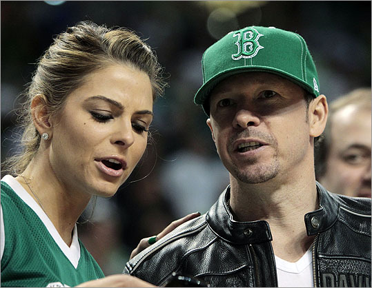 Keeping up with... Donnie Wahlberg? Yes, he's from Dorchester. But if Kim Kardashian can be married for 72 days, a Dot guy can live in Southie. It would make for some entertaining television. Also, Wahlberg (pictured with Maria Menounos) starred in a film called 'Southie.' This one just might be meant to be.