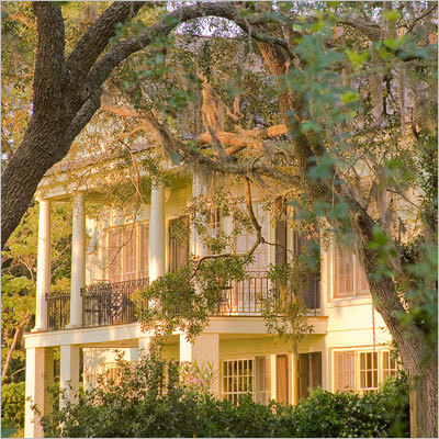 5. Beaufort, S.C. Population: 12,000 Impressive antebellum architecture makes Beaufort a tourist draw and a sought-after place for filming. 'Forrest Gump,' The Big Chill,' and 'The Prince of Tides' were shot on Port Royal Island, which boasts more than 70 historic sites, including the downtown commercial district. Known for its golf, fishing and kayaking, Beaufort was chosen 'Best Small Southern Town' by Southern Living magazine.