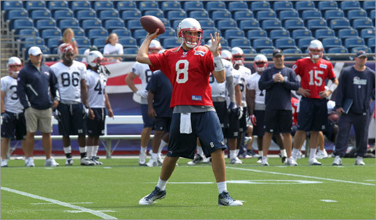 Brian Hoyer The Patriots believe their backup quarterback has what it takes to be a starter in the NFL, the Globe's Shalise Manza Young reports. He will be a restricted free agent, which means the Patriots can retain him by tendering a contract. Hoyer appeared in three games this season and only 13 since joining New England as an undrafted free agent in 2009.
