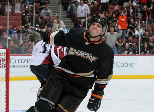 Bobby Ryan Globe reporter Kevin Paul Dupont says the Ducks may be the biggest wild card in the trade landscape if they decide to move star right wings Bobby Ryan (pictured) and Corey Perry. 'Ryan would attract huge interest on Causeway Street, though it likely would come down to Chiarelli having to offer a package that included one core player (Milan Lucic or David Krejci?) and stud prospect Doug Hamilton,' Dupont wrote recently.