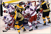 Bruins-Rangers photos