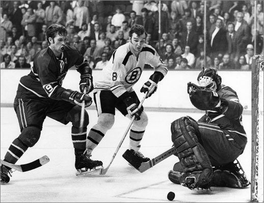 Ken 'Bleeping' Dryden: The Hall of Fame goalie spent his career haunting and tormenting Boston. He led Cornell to the 1967 NCAA hockey championship by stopping BU 4-1 in the title game. Dryden ruled between the pipes for the Montreal 'Bleeping' Canadiens on six Stanley Cup teams (1971, 73, 76, 77, 78 and 79). Dryden and the Habs eliminated the Bruins four times during that run. He won the Conn Smythe Trophy after six regular-season games as rookie in 1971 before the Calder Trophy as Rookie of the Year in 1972. Like another Conn Smythe Trophy-winning goalie we know, Dryden was politically outspoken. He served as a member of the Liberal Party in Canada's House of Commons from 2004-11.