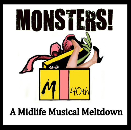 'Monsters!' is the story of Samantha (Emily Browder Melville), a New York City stockbroker, who decides to celebrate her 40th birthday by quitting her job and going off to find herself in Machu Pichu. Standing in her way is her skeptical mother (played by Cheryl McMahon) and a three inner demons embodied by the monsters Apathy, Fear and Body. The title image for 'Monsters!'